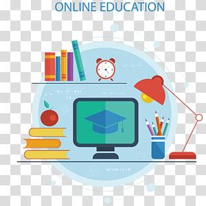 Screenshot do anúncio de Educação on-line, Tecnologia educacional Curso a distância, Educação on-line PNG clipart