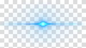 Marca padrão azul, efeito de luz de reflexo de lente criativa, ilustração de luz azul png