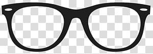 Óculos sem aro Óculos Minimalismo Óculos de sol, óculos Movember, óculos de sol emoldurados brancos PNG clipart