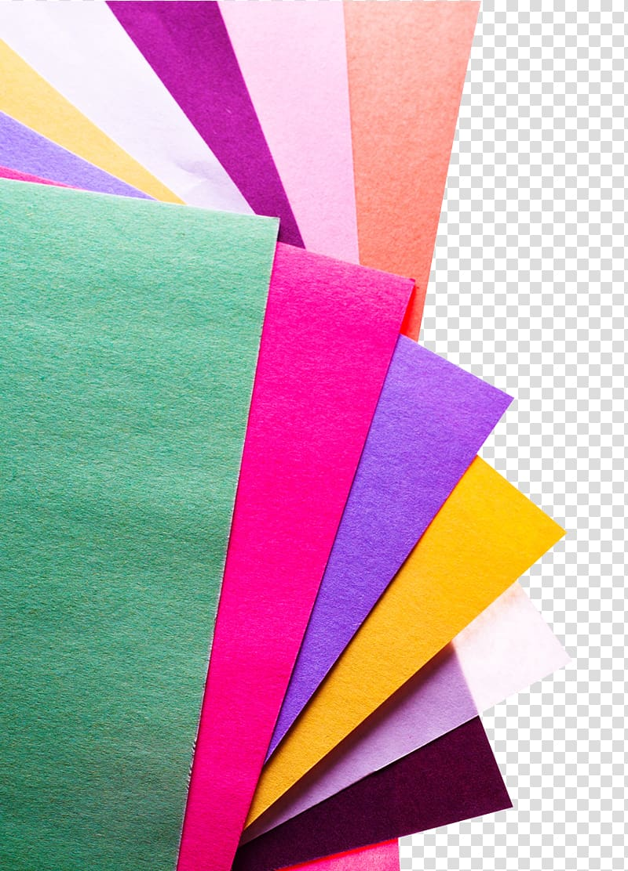 papéis de cores sortidas, instalação de papel, configuração do computador, papéis coloridos PNG clipart