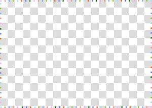 borda de ponto azul, azul-petróleo e vermelho, padrão de jogo, borda fofa PNG clipart