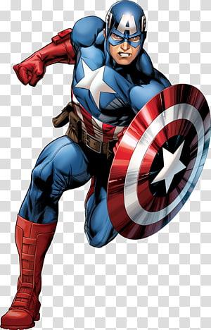 Arte gráfica do Capitão América, Capitão América Homem-Aranha Homem de Ferro Os Vingadores Carol Danvers, super-herói png