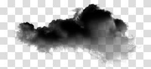 nuvens pretas e cinza, nevoeiro de nuvem, nuvens escuras PNG clipart