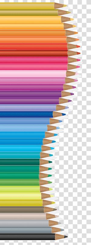 Adesivo para lápis de cores sortidas, Desenho a lápis, Material para lápis de cor Artes criativas PNG clipart