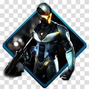 soldado branco e preto, figura de ação de personagem fictício, Timeshift PNG clipart