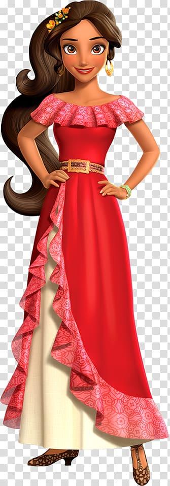 Mulher de vestido vermelho e branco ilustração de ...
