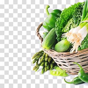 legumes dentro da cesta, vegetais de folhas de alimentos orgânicos, vegetais verdes frescos PNG clipart