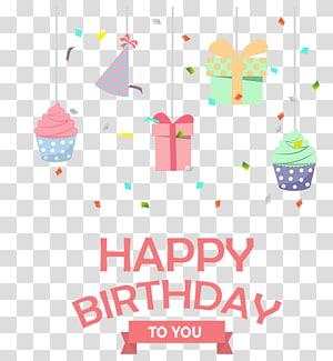Bolo de aniversário Festa, aniversário, feliz aniversário para você ilustração png