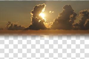 sol atrás das nuvens, depois que as nuvens estão pôr do sol PNG clipart