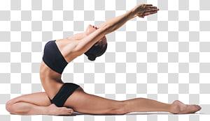 mulher alongamento, yoga Pilates exercício físico Asento aptidão física, tapete de ioga png