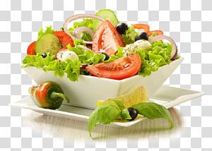 salada de legumes dentro da tigela, salada Caesar Vinagrete Wrap Salada grega, Arquivo de Salada png