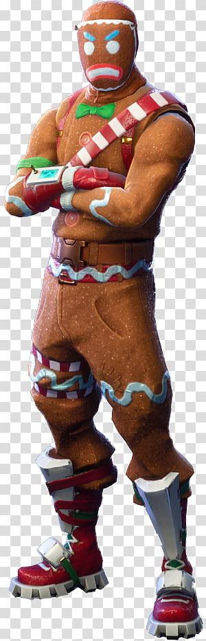 Personagem Fortnite Ginger Bread Man, Fortnite Battle Royale, outros png
