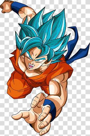 Ilustração de Goku filho, Goku Vegeta Kuririn Super Saiyajin Dragon Ball, goku png