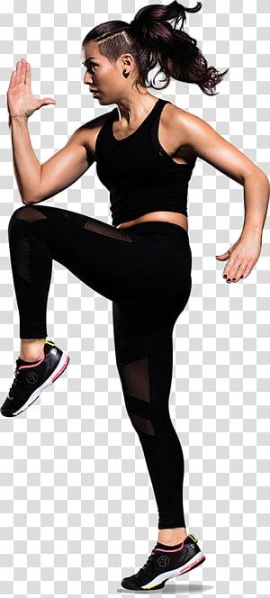 zumba crianças dança aptidão física intervalo de alta intensidade de treinamento, logotipo de fitness png