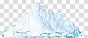 Água de iceberg, iceberg PNG clipart