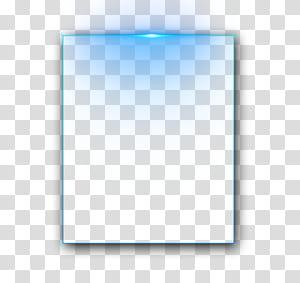 Caixa de texto do Adobe Illustrator Ícone, moldura, forma retangular, com luzes azuis png