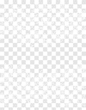 Padrão de ponto de ângulo preto e branco, laço com rosas PNG clipart