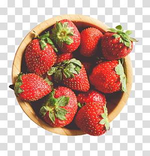 frutas vermelhas de morango, café da manhã Hummus Nutrição, saúde, um morango png