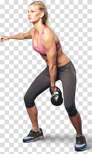 Pilates Condicionamento físico Kettlebell CrossFit Exercício, aeróbica png
