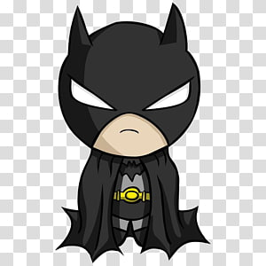Ilustração do DC Batman, Batman Joker desenho Chibi super-herói, batman png
