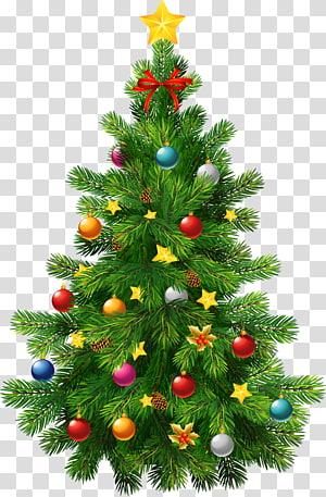 Árvore de Natal Enfeite de Natal, Árvore de Natal Grande Deco, adesivo verde da árvore de Natal PNG clipart