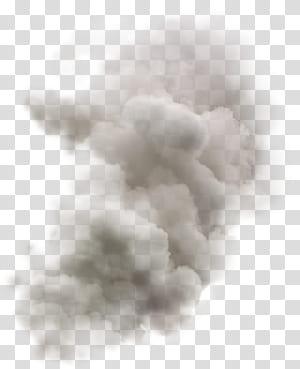 Fumaça de fumo, nuvens de fumaça, nuvens brancas PNG clipart