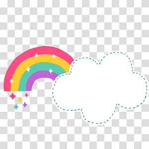 Formato de arquivo de documento de nuvem de arco-íris Cartoon, Cartoon cute clouds rainbow rainbow, rainbow and cloud png