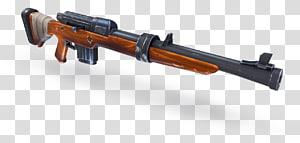 ilustração de rifle marrom, jogo Fortnite Battle Royale para PlayStation 4, jogo de armas royale, espingarda de assalto png