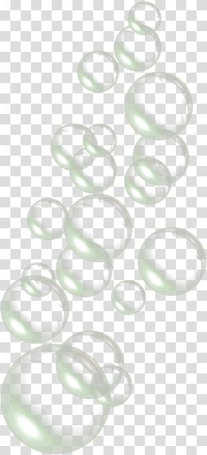 Gotas de bolhas de água, ilustração do círculo png