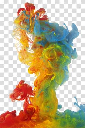 Livraria Sassari Cagliari Biografia, Fumaça colorida, pintura abstrata multicolorida PNG clipart