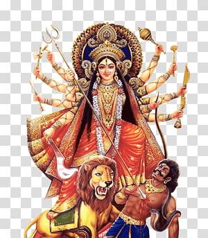 Ilustração do Deus Hindu, Durga Puja Kali Navaratri, Hanuman PNG clipart