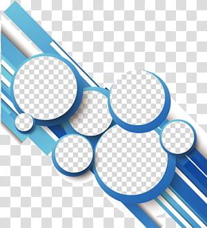 Linha de geometria do círculo, azul linhas geométricas abstratas círculo, branco, cinza e azul PNG clipart