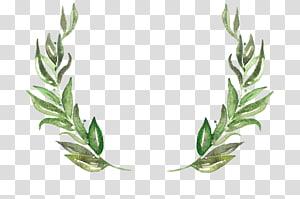 folha, convite de casamento grinalda folha árvore de Natal, grinalda PNG clipart