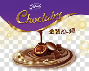 Logotipo da Cadbury Choclairs, chocolate branco Barra de chocolate Cartaz de chocolate quente, chocolate EcoWater Lin PNG clipart