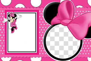 Minnie Mouse Frames Mickey Mouse, Minnie Mouse Frame, Minnie Mouse espelho PNG clipart