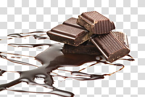 barras de chocolate com calda, Mousse de chocolate branco Comida Chocolate escuro, chocolate PNG clipart