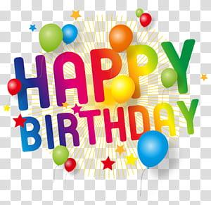 Bolo de aniversário Desejo de festa, feliz aniversário, feliz aniversário texto png