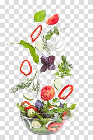 Salada grega Salada de atum Vinagrete de legumes, legumes, legumes fatiados na tigela PNG clipart