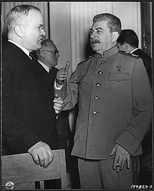 Vyacheslav Molotov Joseph Stalin Rússia Conferência de Yalta Segunda Guerra Mundial, stalin png