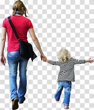 Renderização criança, pessoas, mulher, segurando a mão de criança PNG clipart