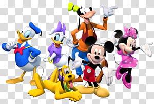 disney mickey mouse e amigos, mickey mouse minnie mouse pluto daisy pato pato donald, personagens do grupo s PNG clipart