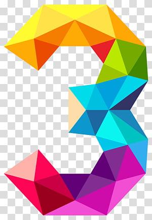 Triângulo monocromático Teorema de Ramsey de cores Gráfico completo, triângulos coloridos número três, ilustração multicolorida 3 PNG clipart