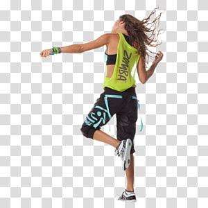mulher em pé com o pé único, Zumba Kids Dance Exercício físico Aptidão física, zumba png
