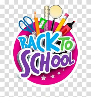 rosa e verde de volta à escola arte, escola desenho ilustração, volta para escola cartoon PNG clipart