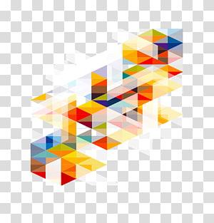 gráfico abstrato, modelo de adobe illustrator, material de fundo colorido geométrico da moda PNG clipart