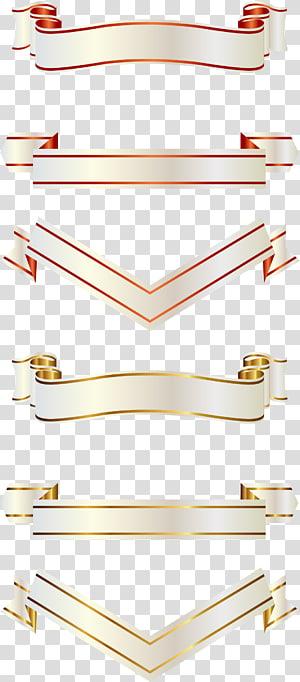 ilustração de fitas brancas, fita png