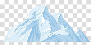 arte do Monte Everest, iceberg dos desenhos animados do iceberg PNG clipart