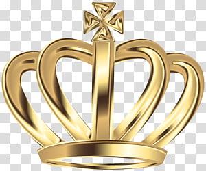coroa de cor dourada, coroa gráficos escalonáveis, coroa de ouro deco PNG clipart