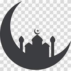 Ramadan Islam Computer Icons Mesquita, Islã, Mesquita, Oração, Ramadã, Ramzan Icon, Mesquita na silhueta da lua crescente PNG clipart