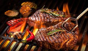 carne grelhada, grelha de churrasco Beefsteak Hamburger Grelhados, grelha PNG clipart